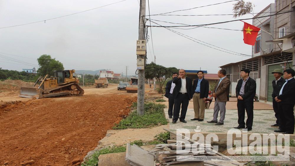 Bắc Giang, tiến độ, Dự án cải tạo, nâng cấp, đường tỉnh 293, Nguyễn Văn Linh, Chủ tịch UBND tỉnh