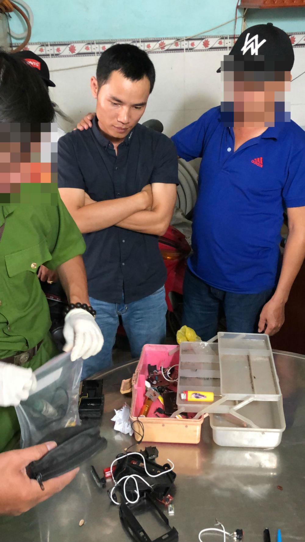 kẻ gửi 'quà' gây nổ, 2 người bị thương,TP Hồ Chí Minh