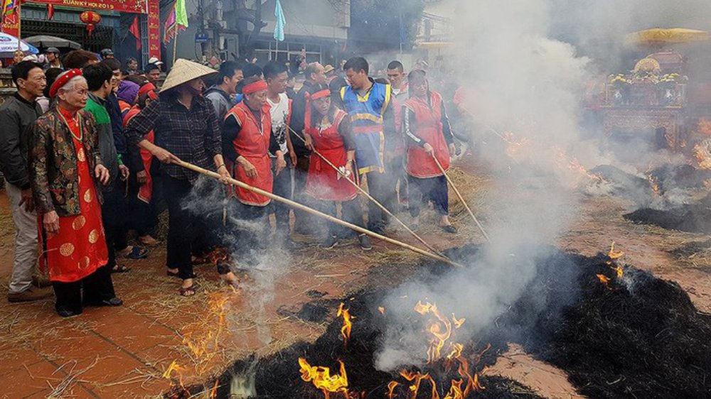 Từng bừng, cuộc thi, thổi cơm, làng Thị Cấm