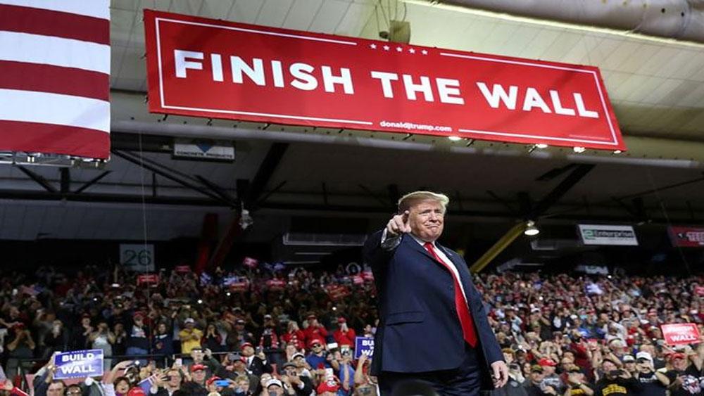 Ông Trump, khởi động, chiến dịch tái tranh cử tổng thống Mỹ
