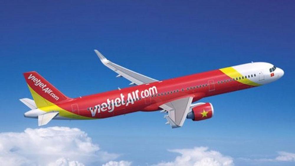 Máy bay Vietjet hỏng lốp sau khi hạ cánh xuống sân bay Tân Sơn Nhất