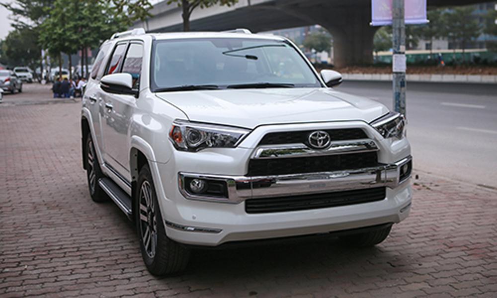 Toyota 4Runner 2018, bản Limited đầu tiên về Việt Nam, giá 4runner tại Việt Nam, SUV