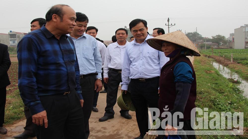 Chủ tịch UBND tỉnh Nguyễn Văn Linh chỉ đạo: Bảo đảm tốt các điều kiện cho sản xuất vụ xuân
