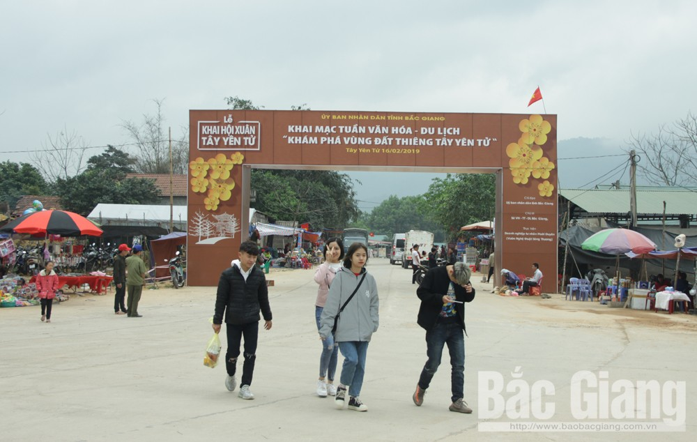 Sẵn sàng khai hội Xuân, Tuần Văn hóa - Du lịch Tây Yên Tử, Huyện Sơn Động, Tỉnh Bắc Giang