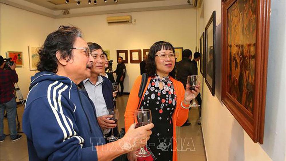 Triển lãm hơn 90 tác phẩm nhiếp ảnh, mỹ thuật chào Xuân Kỷ Hợi 2019