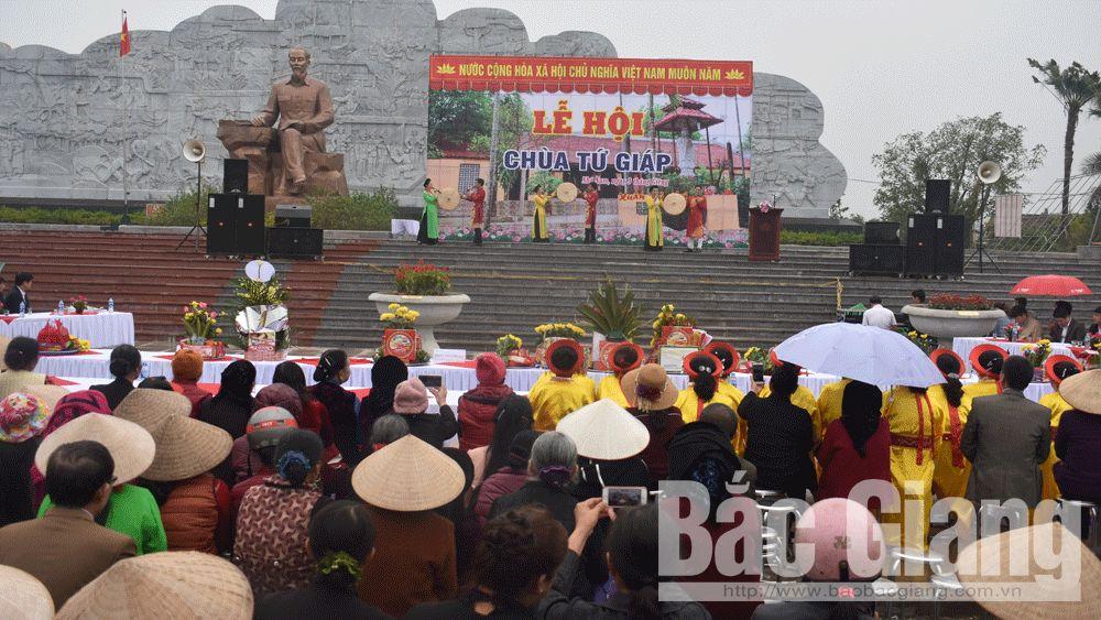 Khai hội chùa Tứ Giáp- nơi phát tích 6 điều Bác Hồ dạy Công an nhân dân