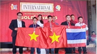 """Đoàn học sinh Hà Nội đạt thành tích cao tại Cuộc thi """"Tìm kiếm tài năng Toán học quốc tế"""" năm 2019"""