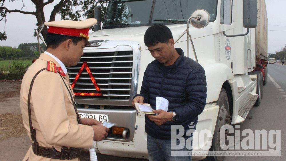 Bắc Giang: Xử lý hơn 429 trường hợp vi phạm giao thông