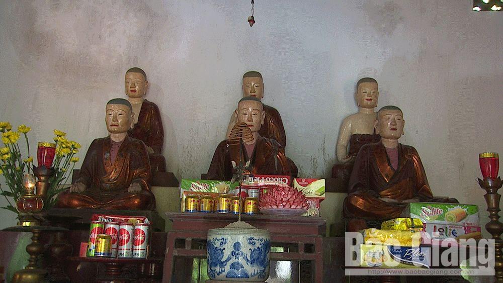Chùa Bảo An, Minh Kính tự, Tây Yên Tử, Trúc Lâm Tam Tổ, Bắc Giang