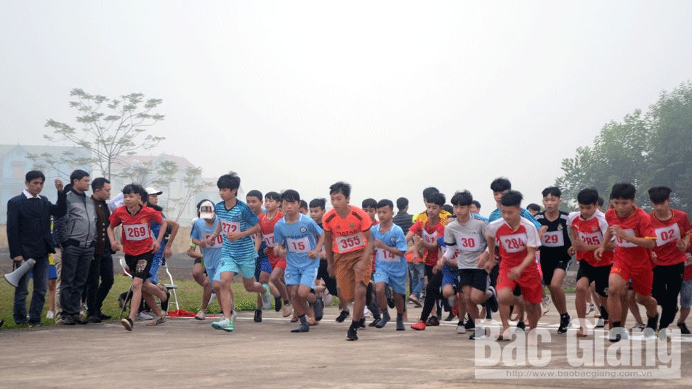 việt dã Lạng Giang, Giải Việt dã truyền thống Báo Bắc Giang, Bắc Giang