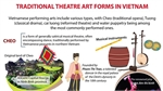 Traditional theatre art forms in Vietnam
