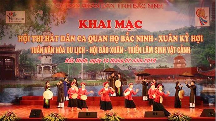 Quan ho festival offers diverse activities