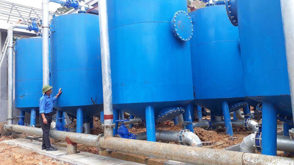 Bảo đảm nước sạch phục vụ Khu Du lịch tâm linh-sinh thái Tây Yên Tử