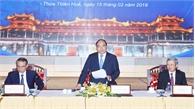 Thủ tướng Nguyễn Xuân Phúc: Đẩy mạnh cơ chế liên kết vùng trong phát triển kinh tế miền Trung