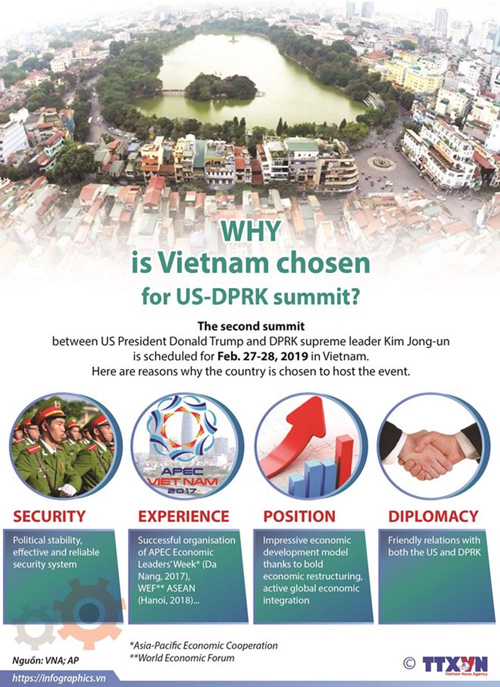 Vietnam, US-DPRK summit, Donald Trump, Kim Jung un, security, experience, position, diplomacy