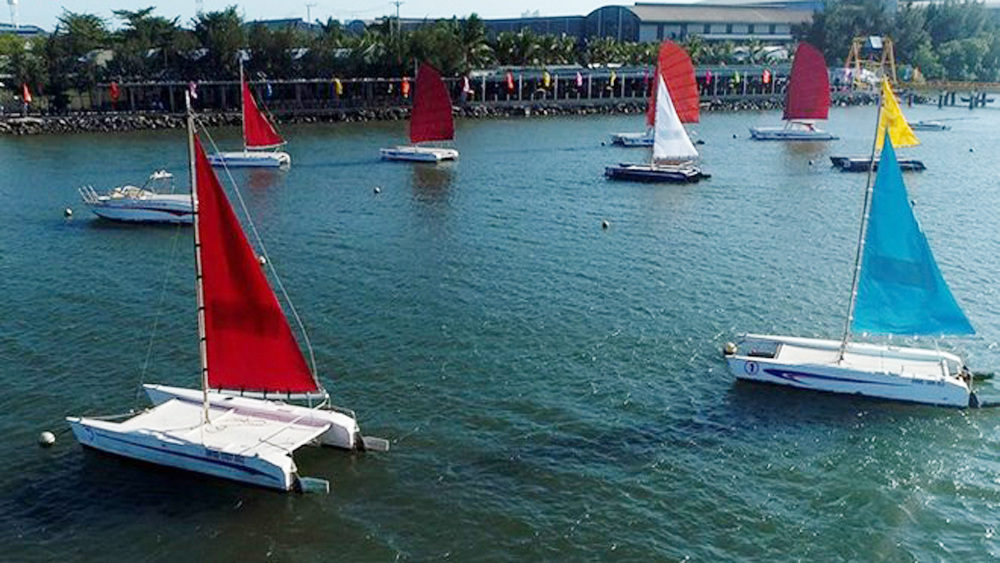 Ba Ria - Vung Tau city hosts sailing race