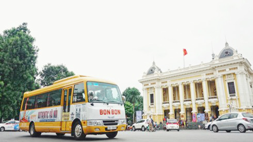 Bonbon city tour, Hanoi, history and culture, new Hanoi exploration tour, Bonbon Hanoi, Hop On - Hop Off model