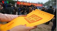 Lễ hội đền Trần 2019 sẽ phát ấn từ 5 giờ sáng