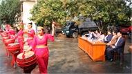 Tổng duyệt chương trình nghệ thuật chào mừng Ngày thơ Việt Nam lần thứ XVII tại Bắc Giang