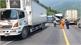 Va chạm xe khách và container, 13 người bị thương