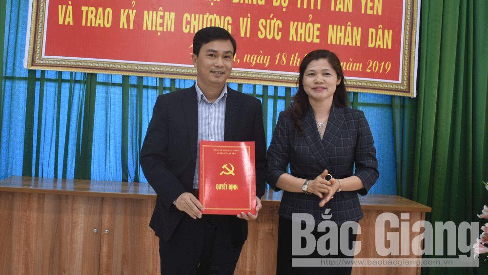 Thành lập Đảng bộ; Tân Yên