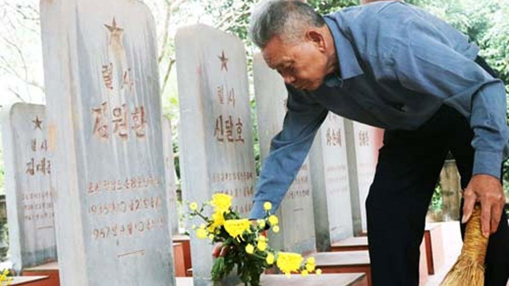 Khu tưởng niệm 14 phi công Triều Tiên hy sinh ở Việt Nam