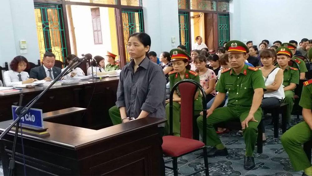 Cáo trạng mới xác định số nạn nhân bị ảnh hưởng bởi hành vi tắc trách của nữ y sĩ Hoàng Thị Hiền.