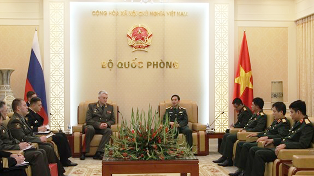 Vietnam, Russia armies, bilateral cooperation, cooperation contents, teaching facilities and syllabus, traditional cooperation, friendship and collaboration