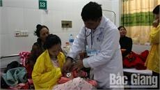 Bệnh nhi nhập viện do bệnh lý hô hấp tăng cao