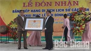 Đình làng Sặt được công nhận di tích lịch sử cấp tỉnh