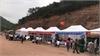 12 gian trưng bày nông sản địa phương tại Lễ khai hội đền Thần Nông