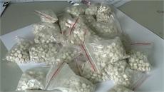 Bắt đối tượng tàng trữ lượng lớn ma túy các loại