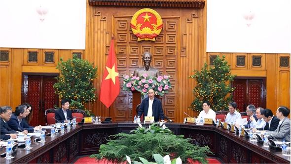 Thủ tướng Nguyễn Xuân Phúc chủ trì cuộc họp đẩy mạnh thu mua lúa gạo