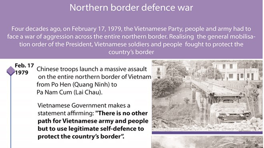 Northern border defence war