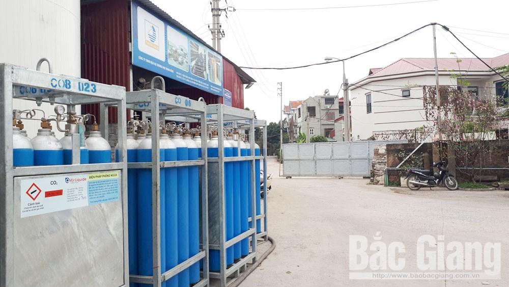 TP Bắc Giang, Đa Mai, Công ty TNHH Dịch vụ-  Thương mại Thanh Hằng, Công ty Thanh Hằng, khí công nghiệp
