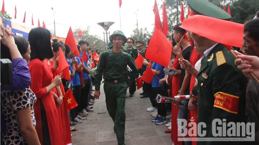 Yên Thế, 188 tân binh, lên đường nhập ngũ