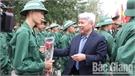 Tân binh huyện Yên Thế lên đường nhập ngũ