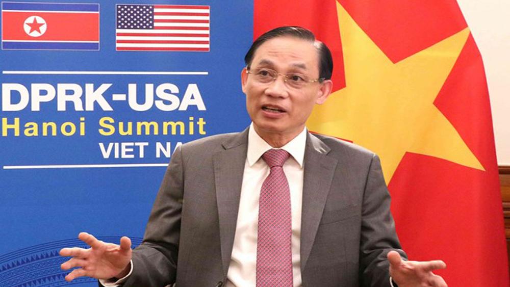preparation work, US-DPRK Summit, Deputy FM Le Hoai Trung, high-ranking Vietnamese leaders, close coordination, regional and global peace