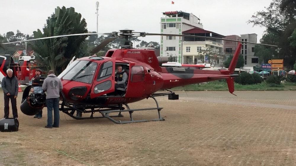 Từ tháng 3-2019,  dịch vụ, tham quan vịnh Hạ Long bằng trực thăng, đảo du lịch Tuần Châu