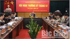 Chủ tịch UBND tỉnh Nguyễn Văn Linh chỉ đạo:  Tập trung các giải pháp để đạt mục tiêu tăng trưởng năm