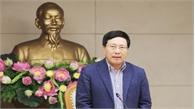 Phó Thủ tướng Phạm Bình Minh chủ trì họp về công tác chuẩn bị Hội nghị Thượng đỉnh Mỹ - Triều Tiên lần hai tại Việt Nam