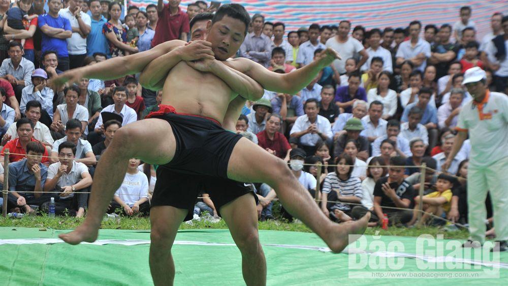 Hội vật làng Vân, làng cổ Thổ Hà, xã Văn Hà, huyện Việt Yên