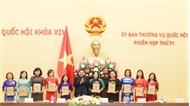 Gặp mặt các cán bộ nữ công tiêu biểu toàn quốc lần thứ 2