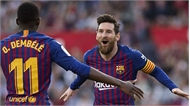 Messi lập hat-trick, Barca thắng ngược Sevilla
