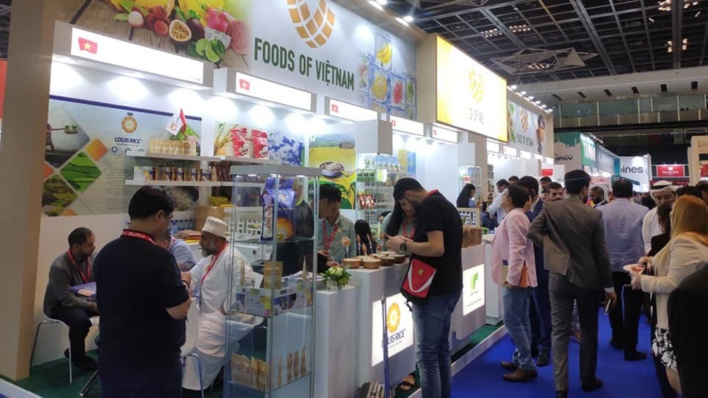 Vietnamese firms, large contracts, Gulfood Exhibition 2019, trade show, food and beverages