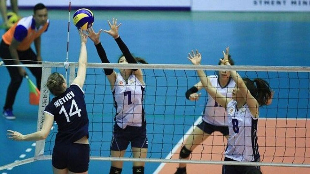 Int'l volleyball tournament kicks off in Bac Ninh province