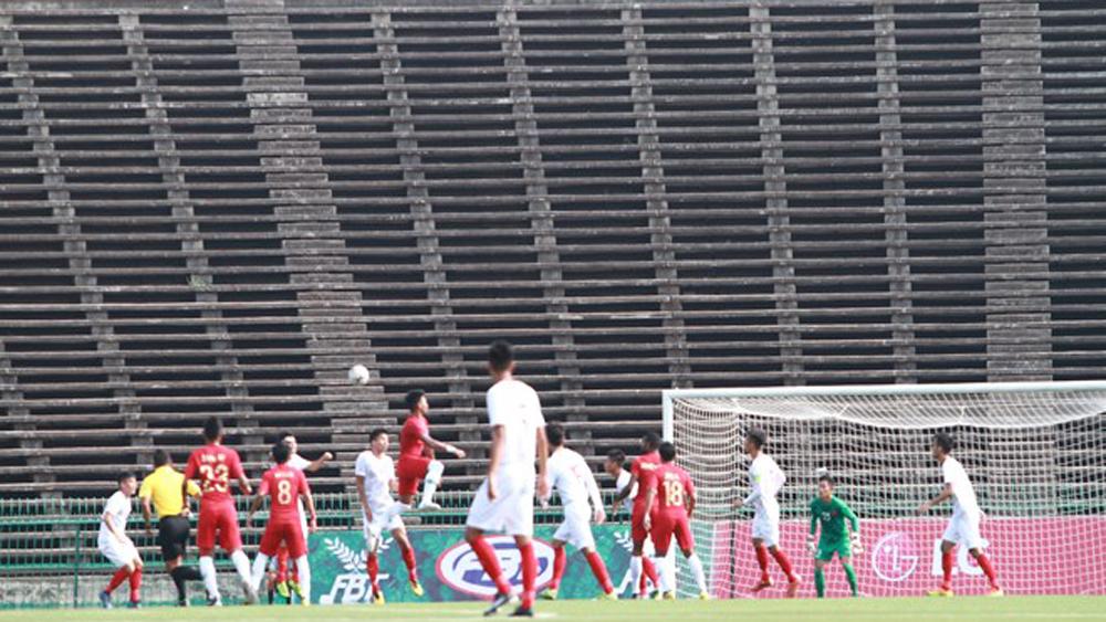 AFF U22 Championship: Vietnam lose 0-1 to Indonesia in semi-finals
