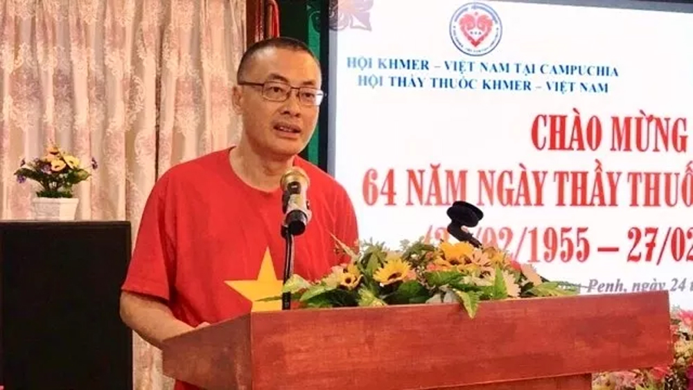 Vietnamese Doctors' Day, 64th anniversary, social life,  Khmer – Vietnamese Doctors' Association, free health check-ups, charity activities