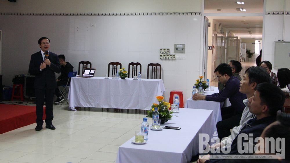 Ung thư phổi, nội soi phế quản, bệnh viện ung bướu tỉnh Bắc Giang, PGS-TS Vũ Văn Giáp