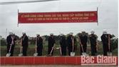 Khởi công nâng cấp đoạn đường tỉnh 295, địa phận xã Tam Dị